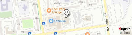 Роял Карс на карте Южно-Сахалинска