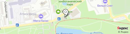 XXL на карте Южно-Сахалинска