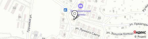 Объединение Благоустроителей Сахалина на карте Южно-Сахалинска