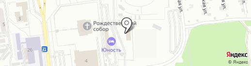 TRX СТУДИЯ на карте Южно-Сахалинска