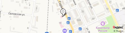 Жемчуг на карте Долинска