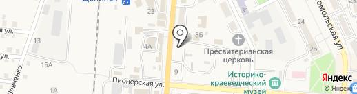 ДАЧНИК на карте Долинска