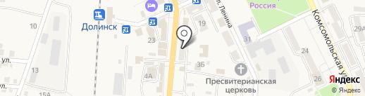Связной на карте Долинска