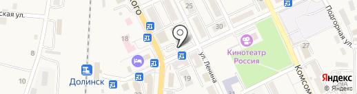 МТС на карте Долинска