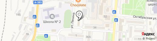Гранд-Уникум, НОУ на карте Долинска