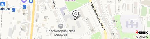 Долинский хлебокомбинат, ЗАО на карте Долинска
