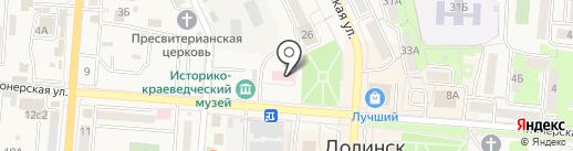 Женская консультация на карте Долинска
