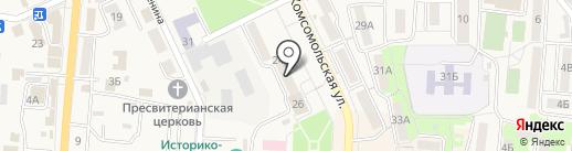 Банкомат, Газпромбанк на карте Долинска