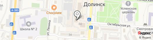 ТОП-GSM на карте Долинска
