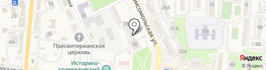 Ростелеком, ПАО на карте Долинска