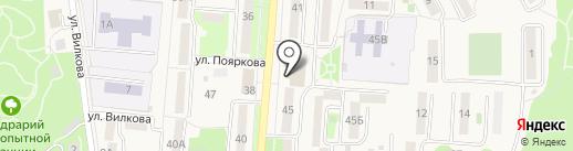 Столичный на карте Долинска