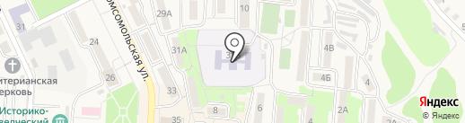Солнышко на карте Долинска