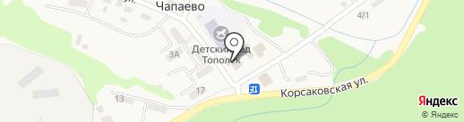 Любимый на карте Чапаево
