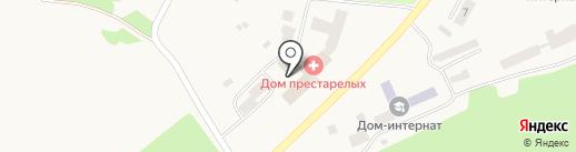 Елизовский дом-интернат для психических больных на карте Елизово