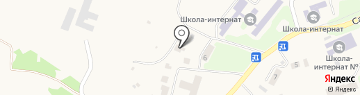 Межшкольный учебно-производственный комбинат на карте Елизово