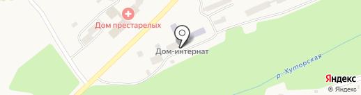 Елизовский дом-интернат для умственно отсталых детей, КГАУ на карте Елизово