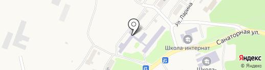 Камчатская школа-интернат для детей-сирот и детей, оставшихся без попечения родителей на карте Елизово