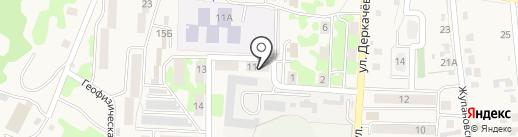 ГФЭ на карте Елизово