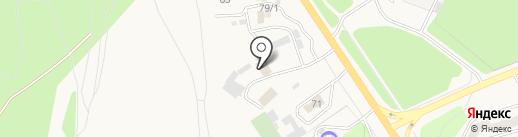 Фолиант на карте Елизово