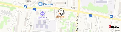 Малкинское на карте Елизово
