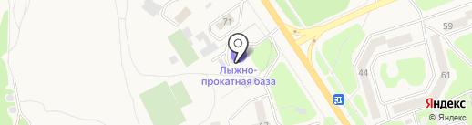 Лыжно-прокатная база Елизовского комитета по физкультуре и спорту на карте Елизово