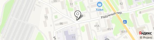 Сад Долголетия на карте Елизово