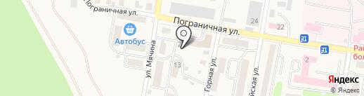 Гейзер на карте Елизово