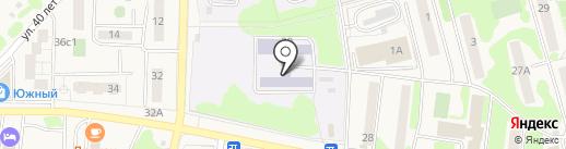 Средняя общеобразовательная школа №1 им. М.В. Ломоносова на карте Елизово