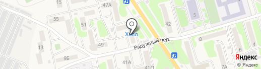 Отделение почтовой связи на карте Елизово