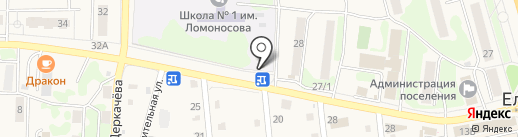 Новая книга-Елизово на карте Елизово