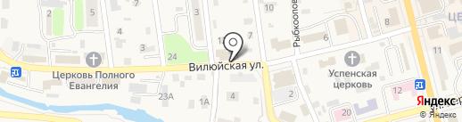 Стройкредит на карте Елизово