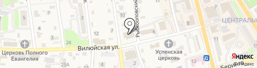 Энергосбыт на карте Елизово