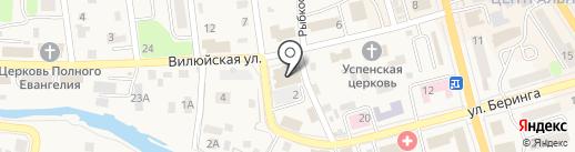Герц на карте Елизово