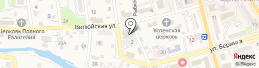 VerandA Lounge Bar на карте Елизово