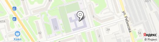 Школа №8 на карте Елизово