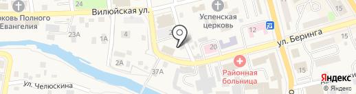 Ургуй на карте Елизово