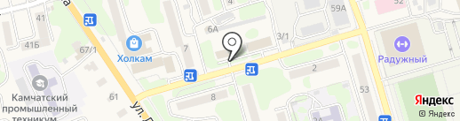 Россельхозцентр, ФГБУ на карте Елизово