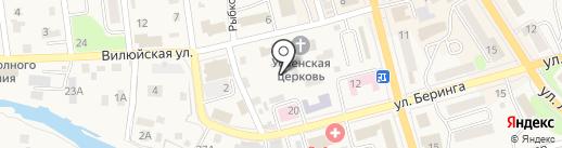 Агния на карте Елизово