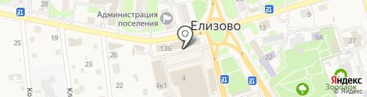 Банкомат, Солид-банк на карте Елизово