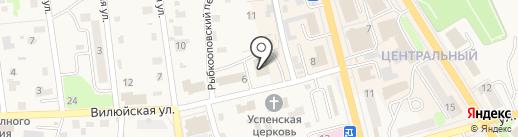 Управление образования на карте Елизово