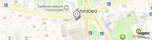 Anykey на карте Елизово