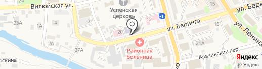 Елизовская детская музыкальная школа на карте Елизово