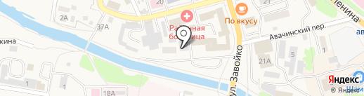 Отдел вневедомственной охраны на карте Елизово