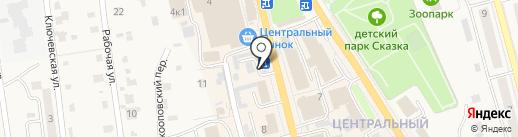 Банкомат, Камчаткомагропромбанк на карте Елизово