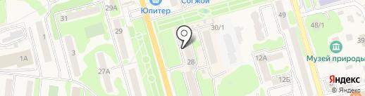 Строй Бери на карте Елизово