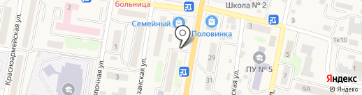 Теплопотери на карте Елизово