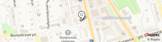 Оранж на карте Елизово