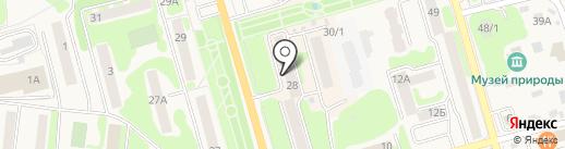 Пробочка на карте Елизово
