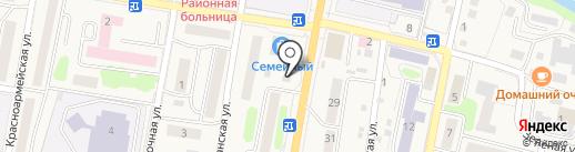 Память на карте Елизово