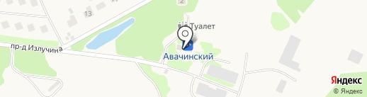 Кречет на карте Елизово